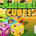 Animal Cubes Board Game