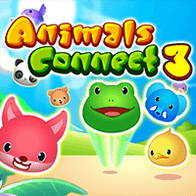 Spiel Animals Connect 3