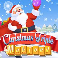 Mahjong Spiele Spiel Christmas Triple Mahjong spielen kostenlos