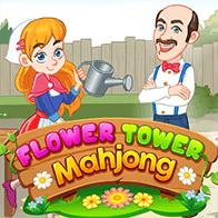 Spiel Flower Tower Mahjong