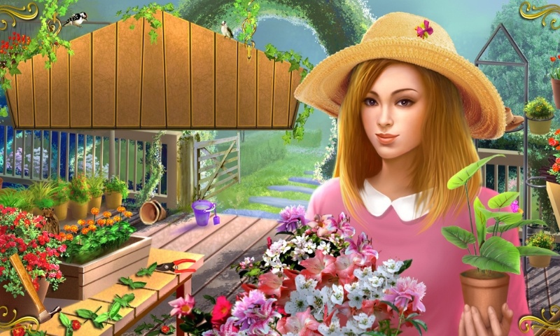 Garden Secrets Hidden Letters Free online games at Agame
