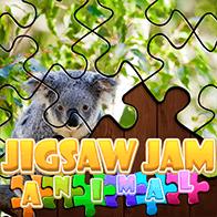 Geschicklichkeit Spiele Spiel Jigsaw Jam Animal spielen kostenlos