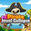 Pirate Jewel Collapse Board Game