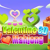 Spiel Valentine 3D Mahjong spielen kostenlos